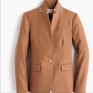 J. Crew Jackets & Coats - J Crew Camel Regent Blazer